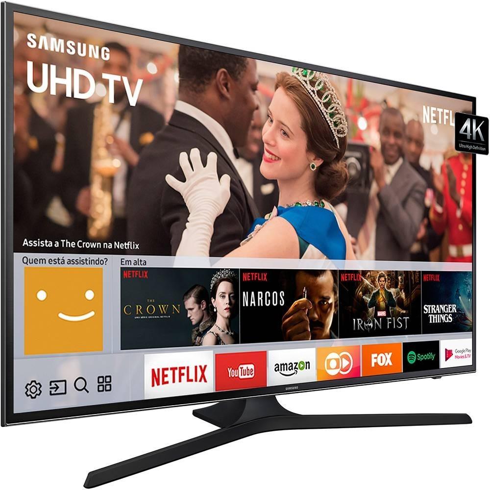 30abf5713 smart tv led 65 polegadas samsung 65mu6100 uhd 4k hdr. Carregando zoom.