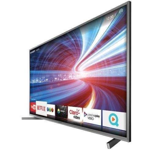 smart tv led 75 pulgadas 4k sharp uhd hdr netflix youtube wf