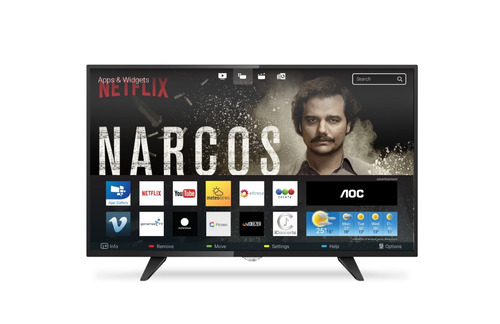 smart tv led aoc 32´´ hd copacabana
