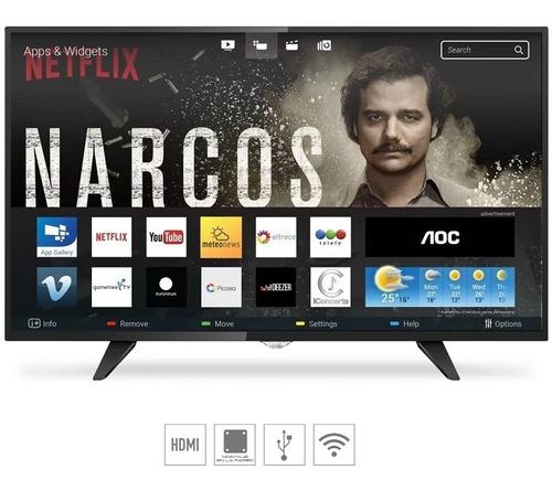 smart tv led aoc hd le32s5970 tda usb