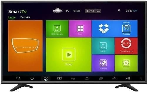 smart tv led asano 50 full hd wi fi android quad core pcm