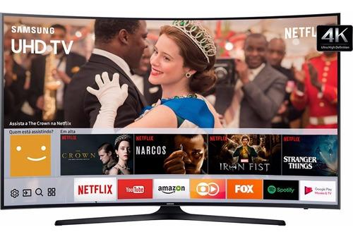 smart tv led curva 49 samsung 49mu6300 uhd 4k e conversor
