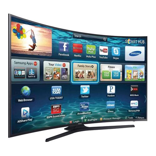 smart tv led curva 49'' ultra hd 4k samsung 49mu6300 wi-fi