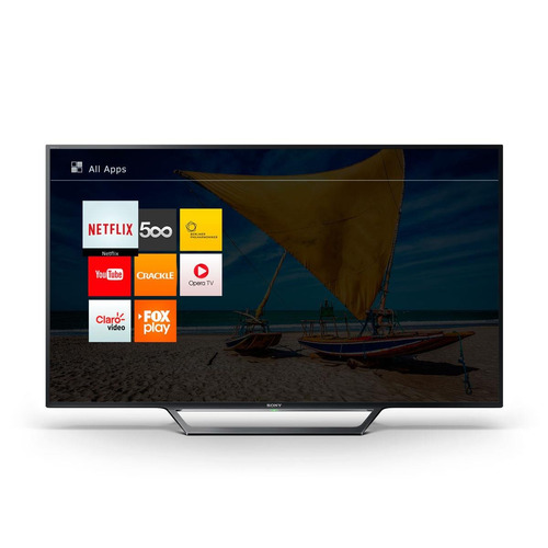 smart tv led full hd sony kdl-w655d 40 pol wi-fi