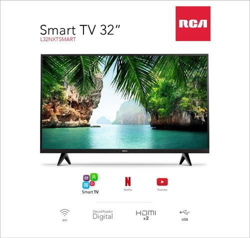smart tv led hd rca l32nxtsmart 32 hdmi usb tda