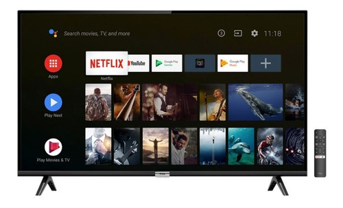 smart tv led hd tcl 32 l32s6500 netflix google assit android