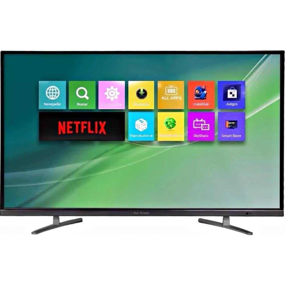 fd40516ea4c15 smart tv led ken brown 32 netflix youtube android tda wifi. Cargando zoom.