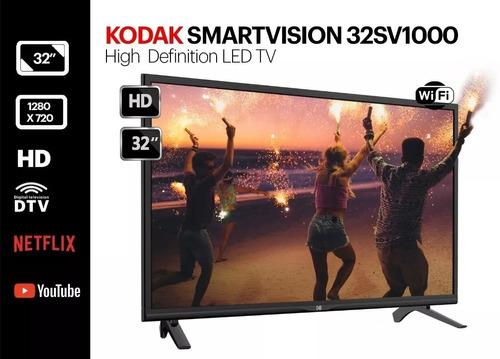 smart tv led kodak 32 sv1000 smartvision hd wifi netflix