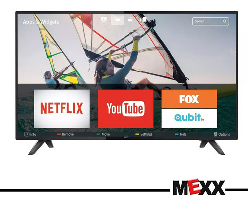 smart tv led philips 43 pulgadas full hd wifi netflix mexx 1