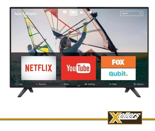 smart tv led philips 43 pulgadas full hd wifi xellers