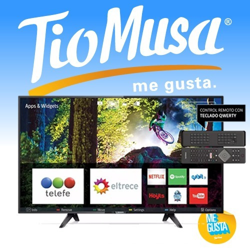 smart tv led philips 49 49pfg5102/77 wifi netflix tio musa