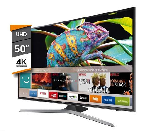 smart tv led samsung 50 mu6100 4k ultra hd hdr netflix