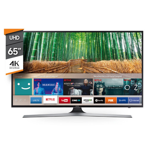 smart tv led samsung 65 pulgadas 4k uhd netflix 65mu6100 env