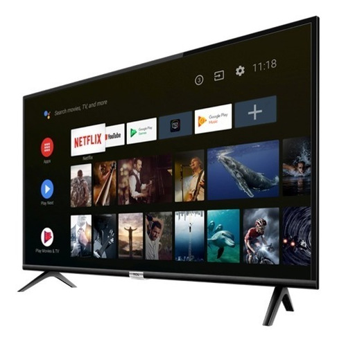 smart tv led tcl32  l32s6500hd netflix android