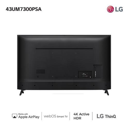 smart tv lg 43` uhd 4k led nuevo modelo garantía oficial amv