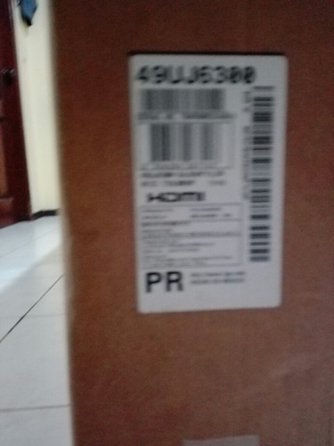 smart tv lg 49 pulg 4k mod 49uj6300