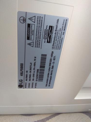 smart tv lg 49lf5900 49 polegadas lcd trincado