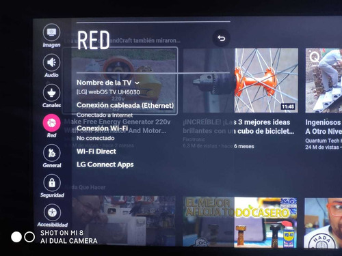 smart tv lg 65 pulgadas