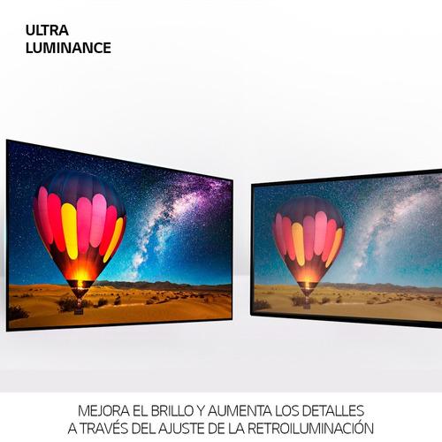 smart tv lg 75 uj6580 4k hdr 10 + barra de sonido lg sj2