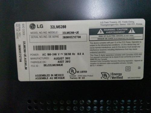 smart tv lg cinema 3d 32lm6200 32  como nuevo para reparar
