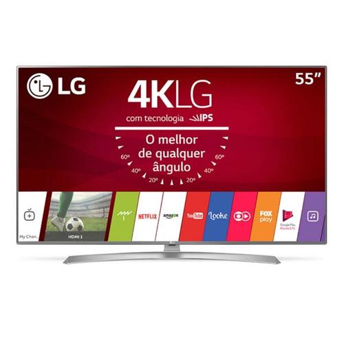 smart tv lg ultra hd 55  painel ips 4k 55uj6545 com hdr, up