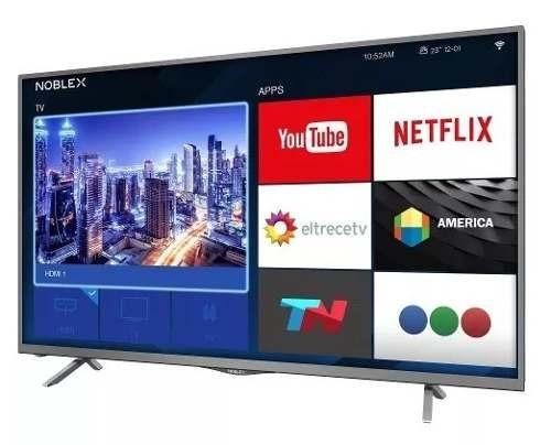 smart tv  noblex led 50 ea50x6100x netflix full hd 84-324
