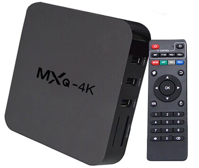 Smart Tv Ott Box Android Iptv Mxq 4k Ultra Hd- Configurado