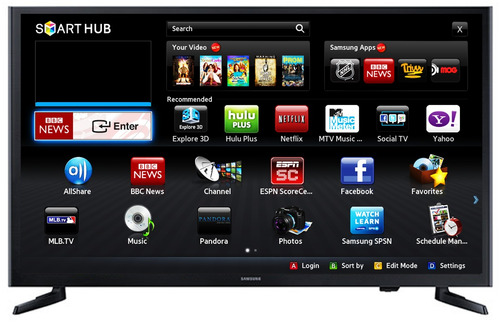 smart tv pantalla led 32 pulgadas full hd samsung