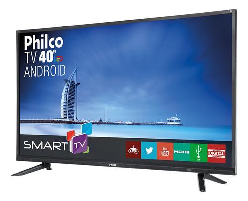smart tv philco led android 40  ph40e20dsgwa bivolt