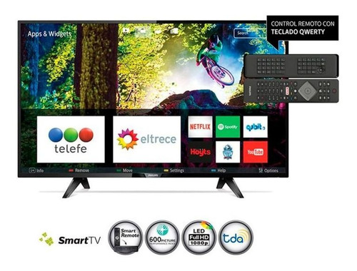 smart tv philips 43 pfg5813/77 fhd hdmi4 usb3 netflix tda