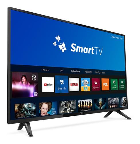 smart tv philips 43''full hd 43pfg5813/78 preta