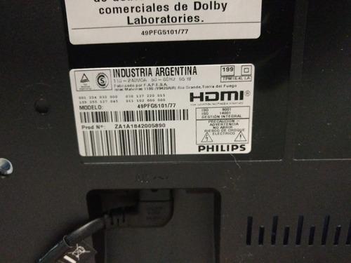 smart tv philips 49pfg5101 pantalla rota