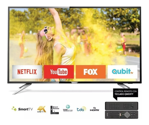 smart tv philips 50 4k ultra hd 50pug6513/77