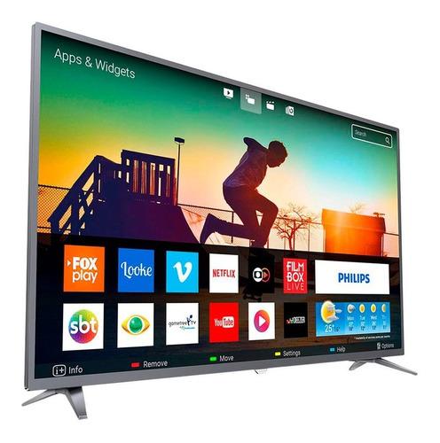 smart tv philips 50 4k ultra hd 50pug6513/77 en 18 cuotas