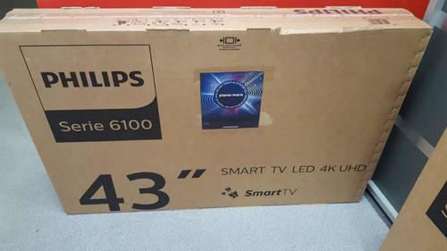 smart tv phillips 43 4k nueva sin uso líquido !