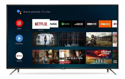 smart tv rca x65andtv led 4k 65