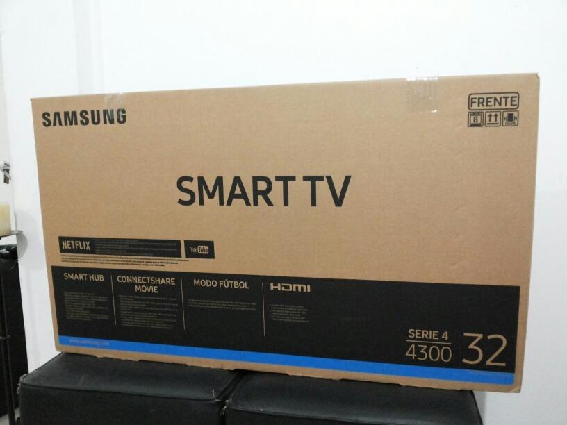 9d6dc4907db smart tv samsung 32 hd j4300 con garantía 1 año. Cargando zoom.