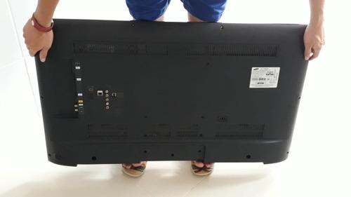 smart tv samsung 40 polegadas, un40h5550agxzd, com defeito