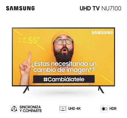 smart tv samsung 55  4k mod. un55nu7100