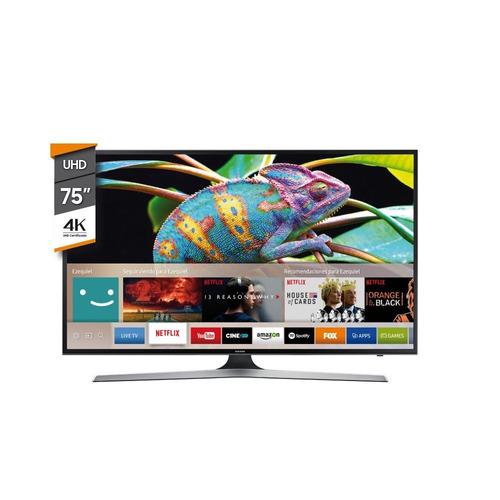 smart tv samsung 75 mu6100g 4k uhd q.core hdr