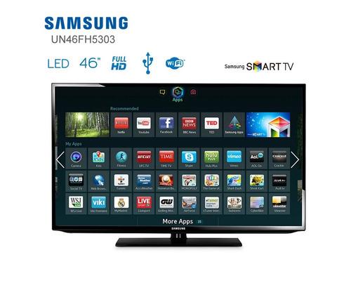 smart tv samsung led 46 pulgadas modelo un46fh5303