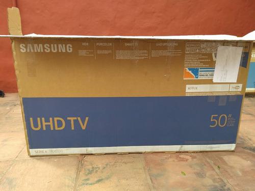 smart tv samsung uhd 4k un50mu6100 funcionando display roto