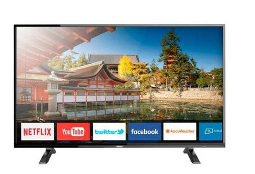 smart tv sanyo 55  lce55su9550 ultra hd 4k netflix 4755