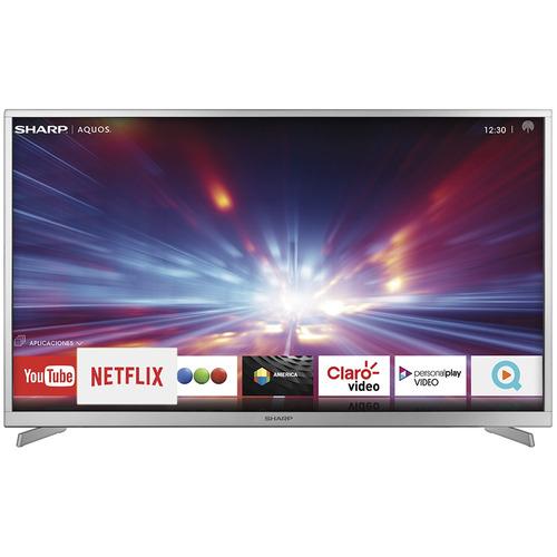 smart tv sharp 50  4k uhd sh5016kuhdx ( netflix)