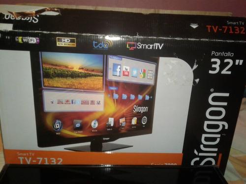 smart tv siragon 32' serie 7132