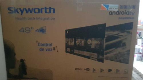 smart tv skyworth 49  uhd 4k sw49s6sug