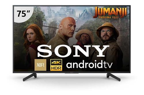 smart tv sony 4k led 75 com motionflow xr 240 - xbr-75x805g