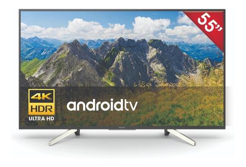 smart tv sony 55   kd-55x755f 4k ultra hd