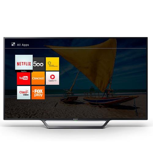 smart tv sony led 40 , wi-fi, full hd, usb, hdmi, x-reality