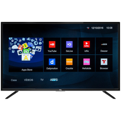 smart tv tcl 32  hd l32s4900 ( netflix)